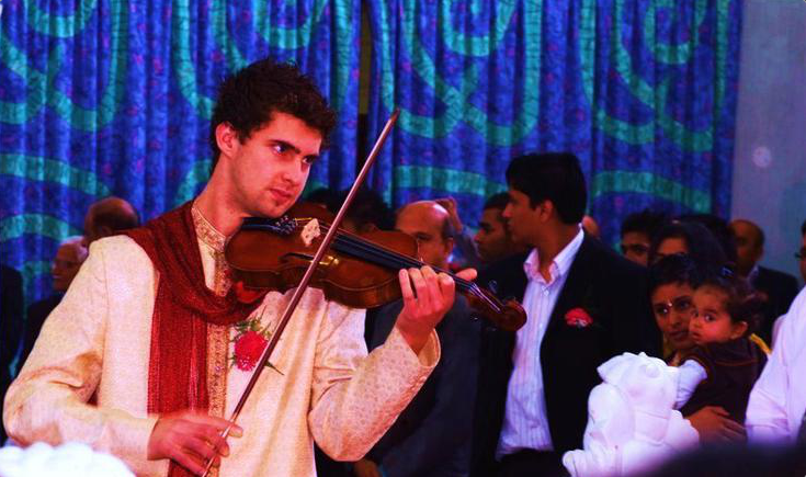 David Ramsay Bollywood Violin 3